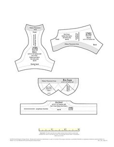 Swim wear pattern for barbie Barbie Sewing Patterns, Lingerie Patterns, Sewing Dolls, Doll Clothes Patterns, Sewing Patterns Free, Doll Patterns, Clothing Patterns, Pattern Sewing, Pattern Drafting