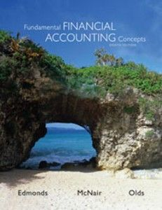 Solution manual for financial reporting and analysis using financial name fundamental financial accounting concepts author edmonds edition 8th isbn 10 fandeluxe Images