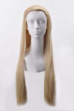 Dominion of Men-Thranduil Long Straight Hair Cosplay Wig Anime Thranduil Cosplay, Barbie, Cosplay Wigs, Straight Hairstyles, Fashion Brands, Winter Hats, Topshop, Costumes, Outfit