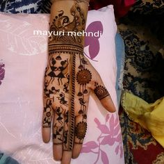 20 Ideas Embroidery Designs Art Drawings For 2019 Peacock Mehndi Designs, Modern Mehndi Designs, Wedding Mehndi Designs, Mehndi Design Pictures, Mehndi Designs For Fingers, Mehndi Patterns, Beautiful Mehndi Design, Mehndi Designs For Hands, Mehndi Images