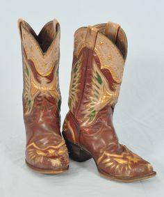 roy roger, cowboy boot