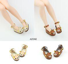 Blythe Bear Bear Strap Shoes Blythe shoes Doll por DollyHoly