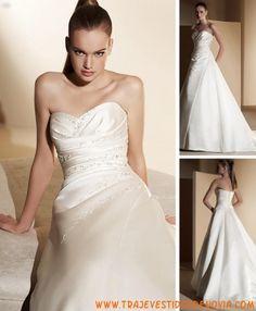 Col. Drapeados  Mod. 422  Vestido de Novia  White One
