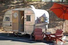 "Camper Restoration| Serafini Amelia|  "" Canned Ham"" Camper-Travel Trailer"