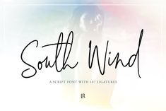 South Wind Font by Ivan Rosenberg on @creativemarket Logo inspiration with simple serif font