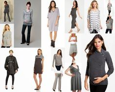 Baby Bump Bundle Blog: Maternity Fashion Finds: 15 Shades of Grey