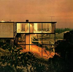 Smith House, Crestwood Hills, Los Angeles, California, 1958 (Craig Ellwood)