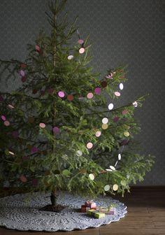 Christmas Tree Mat, Diy Christmas Tree, Christmas 2019, Christmas Holidays, Christmas Decorations, Holiday Decor, Christen, Crochet Patterns, Xmas Ideas