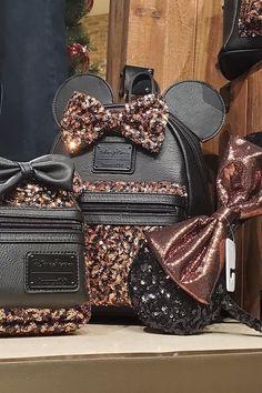 Disney's New Belle-Inspired Merch Collection Is a Sparkly Fairytale Dream Cute Mini Backpacks, Stylish Backpacks, Girl Backpacks, Disney Handbags, Disney Purse, Cute Disney Outfits, Disney Jewelry, Disney Merchandise, Cute Purses