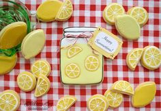 Happy Summertime Lemonade by Melissa Joy Fanciful Cookies | Cookie Connection