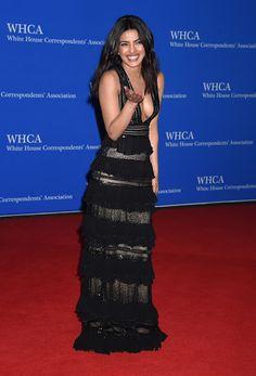 Bharatbytes: HD Pics:Priyanka Chopra at White House Corresponde...