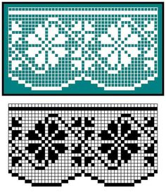 This Pin was discovered by cla Filet Crochet, Crochet Lace Edging, Crochet Borders, Cross Stitch Borders, Crochet Doilies, Knit Crochet, Machine Embroidery Projects, Embroidery Stitches, Embroidery Patterns