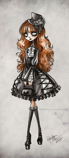 Gothic Lolita by Lithium-Tears.deviantart.com on @deviantART
