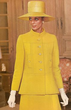Givenchy, Vogue 1968