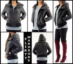 #Women #Leather #Hooded #Bomber #PU #Jacket #Zipper #Ladies #Overcoat #BikerJacket #Coat #Windproof #Casual http://cgi.ebay.co.uk/ws/eBayISAPI.dll?ViewItem&item=282639388459&roken=cUgayN&soutkn=uxe2hc @eBay