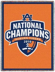 Auburn University National Champions 2010 (Afghan)