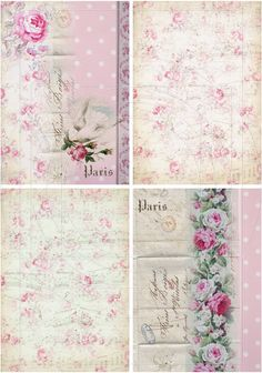 INSTANT+DOWNLOAD+diGiTal+coLLaGe+Sheet+ShaBBy+ChiC+por+bitmap,+$4,25