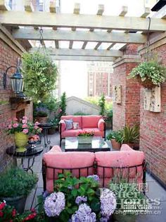 French garden design ideas to create beautiful roof garden ...