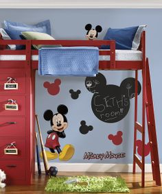 Mickey Chalkboard Wall Decals