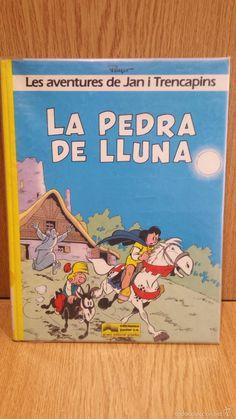 JAN I TRENCAPINS. LA PEDRA DE LLUNA. ED / JUNIO - GRUPO GRIJALBO - 1986.