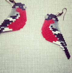 Bird earring by Jannieel on Etsy, $12.00