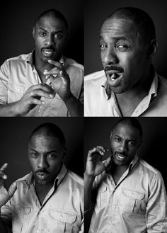 "Idris Elba. His movies are great but if you want to see him in his absolute element, watch ""Luther"" on BBC. You'll need a drink or two."