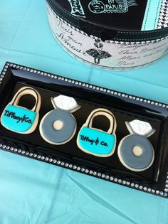 7 Must Have Tiffany's Party Ideas   CatchMyParty.com