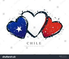 Foto Montages, Chilean Flag, Cake Toppers, Illustration, Love You, Lettering, Tattoo, Cute, Frases