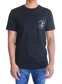 The SOUL Project Anchor Pocket Tee www.soulproject.com