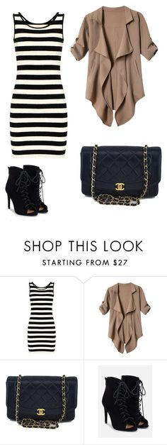 """""""Outfit Inspiration Jessica Fashion Notes"""" by nicollehart on Polyvore featuring moda, Chanel y JustFab"""