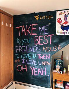 See more of content on VSCO. Dream Rooms, Dream Bedroom, Bedroom Wall, Bedroom Decor, Chalkboard Wall Bedroom, My New Room, My Room, Dorm Room, Vsco