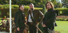 Matthew Macfadyen, Ray Stevenson and Luke Evans in The Three Musketeers (2011) Movie Image