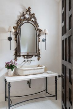 A classic take on a bathroom, this amazing project by Ginger Barber is an amazing uniqueness that is unrivaled by any other project of this kind.