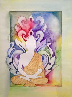 Buddha - imagens de conexão espiritual são muito bem vindas para ativar essa área.