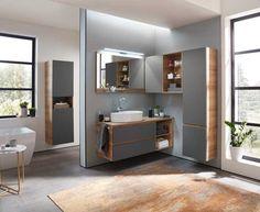 Tipps für ein modernes Bad Bathroom Lighting, Mirror, Design, Furniture, Home Decor, Products, Mirror With Lights, Closet Storage, Oak Tree