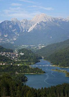 Lago di Centro Cadore - Dolomites, province of Belluno, Veneto, Northern Italy