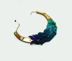 Statement Necklace by Raluca Buzura