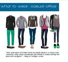 casual office attire