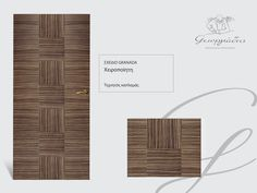 handmade wooden door_code: Granada / by Georgiadis furnitures#handmade #wooden #door #marqueterie
