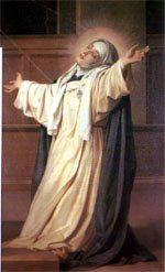 St. Catherine of Siena - one of my favorites! <3