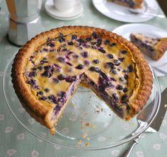 Victoria's Cake Boutique: Mustikkapiirakka (Finnish Blueberry Pie)