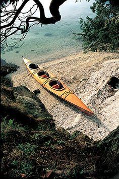 triple-wooden-kayak