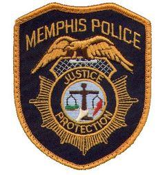Memphis PD TN patch