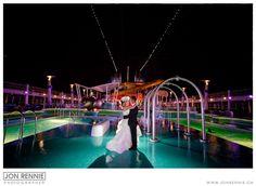 Cruise Ship Wedding, NCL Epic | Destination Wedding | Jon Rennie Wedding Photographer