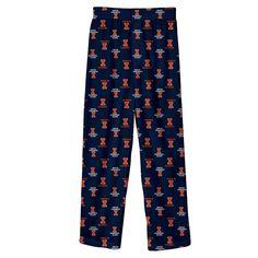 Boys 8-20 Illinois Fighting Illini Team Logo Lounge Pants, Size: Xl 18-20, Dark Blue