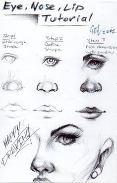 How To Draw Female Eyes Step By Step   Online Drawing Lessons