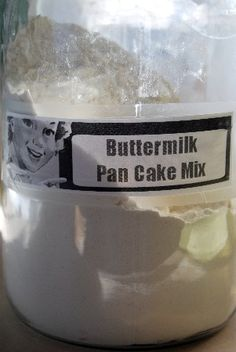 Homemade Buttermilk Pancake and Waffle Mix