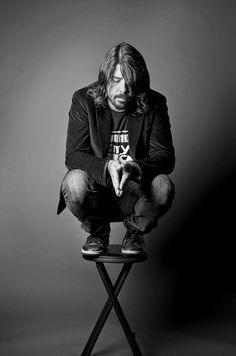 Dave Grohl / Black and White Photography