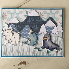 Critters in the cold by Julene23 - at Splitcoaststampers