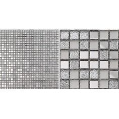 Glass Mosaic Tiles Crystal Backsplash Tile Bathroom Mirrored Wall Tile Mirror Stickers Z181